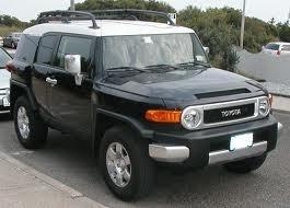 TOYOTA FJ CRUISER V6 noir