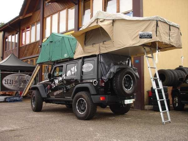 Arceau galerie  Jeep JK ZZ Kustom