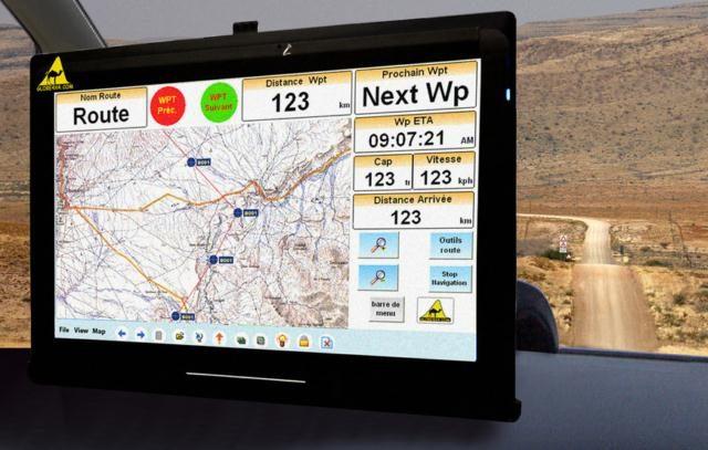 GPS Globe 4x4 700