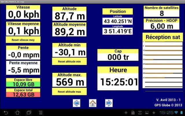 GLOBE Tablette 10 (Samsung Galaxy TAB 2)