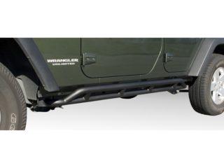 Barres latérales RRC Rocker Guards, Black, 07-14 Jeep Wrangler Unlimited (JK), 4 portes