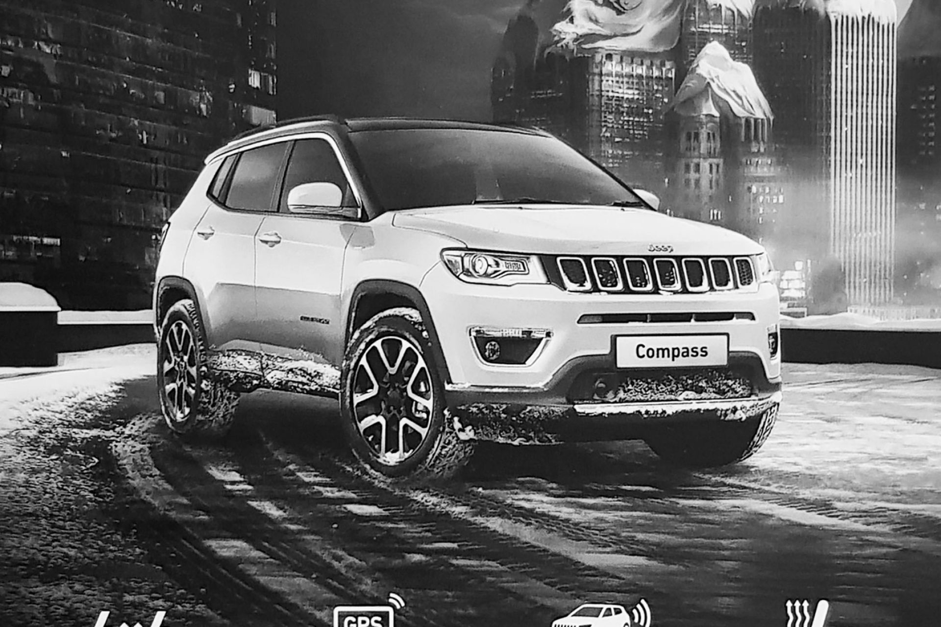 Action Jeep New Compass